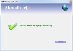 Brak aktualizacji